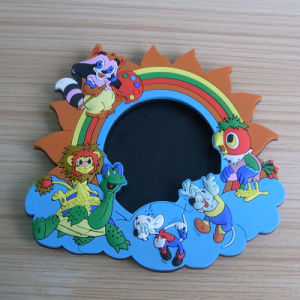 PVC or Rubber 3D Photo Frame with Magnet Holder (ASNY-PF-TM-133) pictures & photos