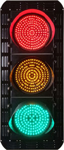 LED Traffic Signal Light (JD200-3-ZGSM-3) pictures & photos