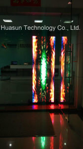 Huasun Trans-Eyes P6 Glass Wall LED Screen for Windows Installation pictures & photos