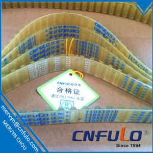 PU Timing Belt T10*1010 with Polyester Cord pictures & photos