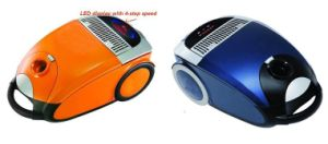 Vacuum Cleaner With LED Display 4 Step Speed and Remote Control on Handle (V-024)