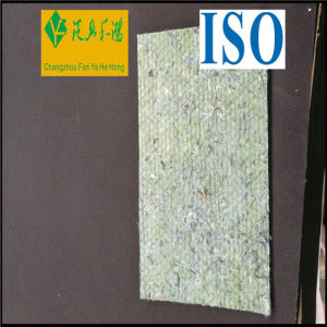 Recycle Polyester Needle Punched Nonwoven Felt with PE Film pictures & photos