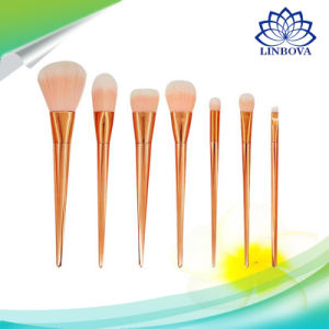 Professional 7PCS Rt Makeup Brushes Set Powder Foundation Eyeshadow Make up Brushes Cosmetics Soft Synthetic Hair for Valentine′s Gifts pictures & photos