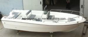 White Fiberglass Fishing Boat Panga Boat Motor Boat pictures & photos