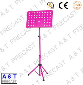 OEM Adjustable and Folding Plastic Music Book/Sheet Stand pictures & photos