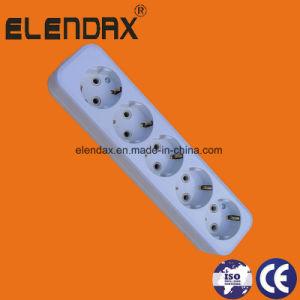 European Style 4 Way Extension Power Strip (E8004E) pictures & photos
