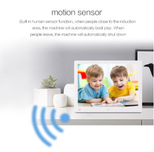 LCD POS Video Player Digital Photo Album with Motion Sensor pictures & photos