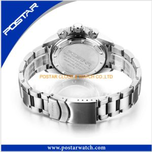 Men′s Mechanical Calendar Watch Male Stainless Steel Watch pictures & photos