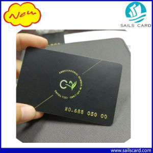 Silver Embossing Numbered ID Cards pictures & photos