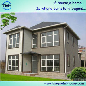 ISO Certificated High Quality Prefab House Double Storey pictures & photos