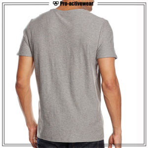 Promotional Man Organic Plain Cotton T-Shirt Custom T Shirt pictures & photos