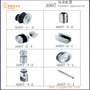 Round Tube High Quality Shower Door Set Standard Application Foshan (A007) pictures & photos
