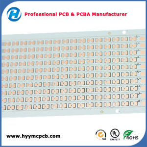 Sold Coating Single Layer 1.5mm Printed Circuit Board Aluminum LED PCB pictures & photos