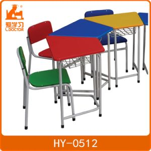 Cheap Colorful Kids Study Desk and Chair for Preschool Students pictures & photos
