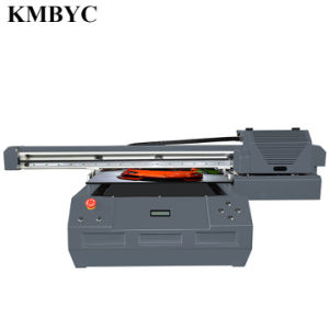 Byc168-6b Flat Bed UV Digital Double Head 12 Channel 7-Color Printer Competitive Price pictures & photos