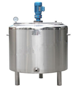 Small Milk Processing Line Milk Pasteurizer Milk Cooling Tank pictures & photos
