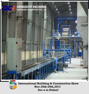 Gypsum Board Production Line/Gypsum Board Manufacturing Machine Process pictures & photos