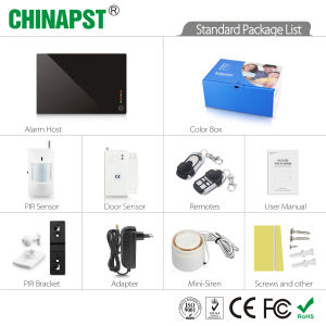 Ios /Android APP Support Wireless Security GSM Alarm System (PST-GA122Q) pictures & photos