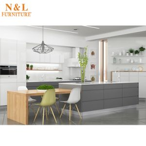 Modern Home Furniture Country Style Wooden Kitchen Cabinets pictures & photos