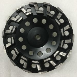 180mm Z Segment Diamond Grinding Cup Wheels for Concrete Floor pictures & photos
