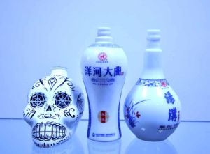 Chinese Manufacturer Liquor Food Grade Glass Bottle for Vodka pictures & photos