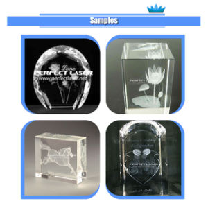 Sub-Surface 2D 3D Photo Crystal Glass Laser Engraving Machinery Price pictures & photos