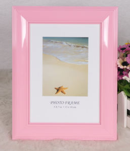 Plastic Back Open Photo Frame (BH-15) pictures & photos