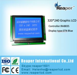 Graphic LCD Stn Blue 320X240 COB Type Graphic LCD Display for Instrument pictures & photos