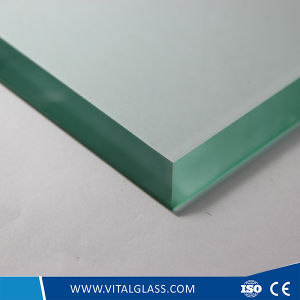 Clear Tempered/Toughened Glass Plate for Sliding Door pictures & photos