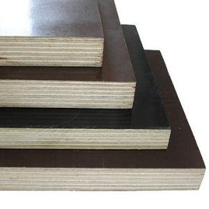 Shutter Ply / Construciton Plywood Dynea Brown Film+Hardwood Core+ WBP Glue pictures & photos