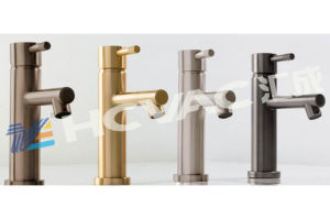 Sanitary Faucet Gold, Copper, Nickle, Black Color PVD Coating Machine System pictures & photos