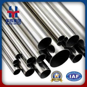 Huaye Grade 201 Prime Stainless Steel Tubes with Aod Material pictures & photos