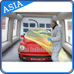 Truck Mobile Used Car Body Paint Booth Price for Sale pictures & photos
