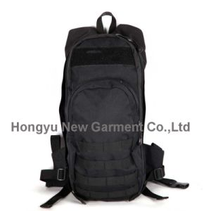 Factory Fashion Black Molle Sports Backpack Knapsack (HY-B084) pictures & photos