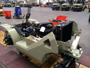 Sit-on Reach Forklift Truck pictures & photos