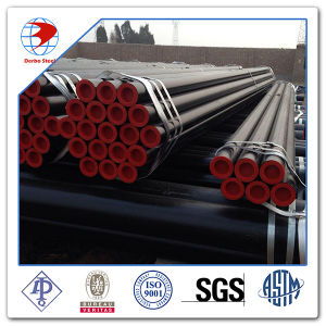 """API 5L Gr. B 4"""" Sch40 Be Coating Welded Steel Pipe pictures & photos"""