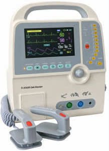 7′ Color LCD Aed Automated External Defibrillator (D-2000B) pictures & photos