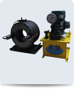 Manul Hose Crimping Machine for Oil Feild pictures & photos