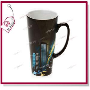 17oz Sublimation Ceramic Magic Mug in Black pictures & photos