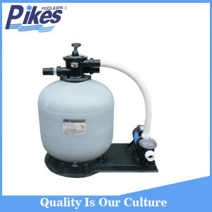 America Domestic Pool Filtration Combo Multiport Valve Water Filter with Pump Sand Filter Sale pictures & photos