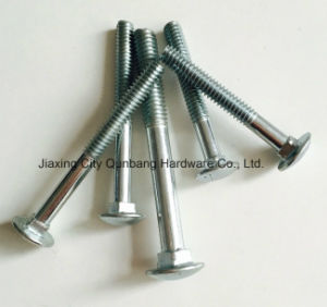 Carriage Bolts (DIN603 M5-M20 Bzp Cl. 4.8/6.8) pictures & photos