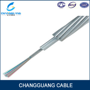 Opgw Central Aluminium Tube Cable with Double Stranded Layers