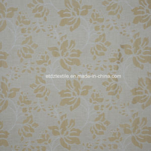 First Class Top One Linen Touching Polyester Curtain pictures & photos