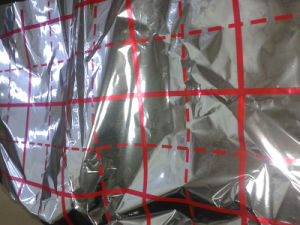Bubble Foil Insulation, Building Material, VMPET +PE Laminating Film pictures & photos