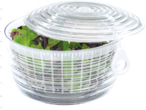 Salad Spinner, Vegetable Spinner, Plastic Container pictures & photos