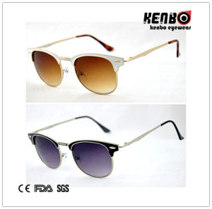 Best Selling Fashion Metal Sunglasses, 100%UV Protection, CE FDA SGS Km15095 pictures & photos