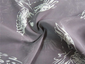 100d Imitated Silk Fabric Chiffon for Skirt pictures & photos