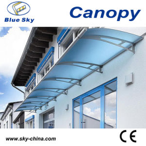 Balcony Aluminum and Polycarbonate Window Canopy (B900) pictures & photos