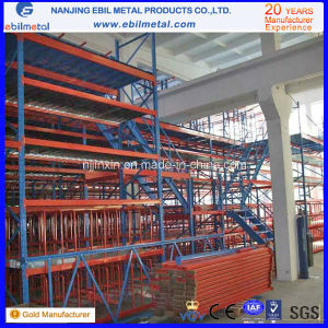 Steel Q235 Warehouse Multi-Tier Rack pictures & photos