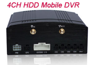 4 CH H. 264 HDD Mobile DVR Support GPS. WiFi and G-Sensor New Digital Video Recorder pictures & photos
